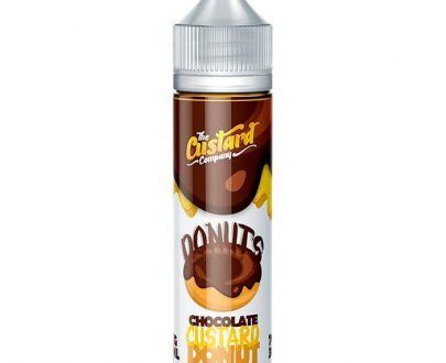 The Custard Company - Chocolate Donut 50ml Short Fill E-Liquid TCFL80CD55000