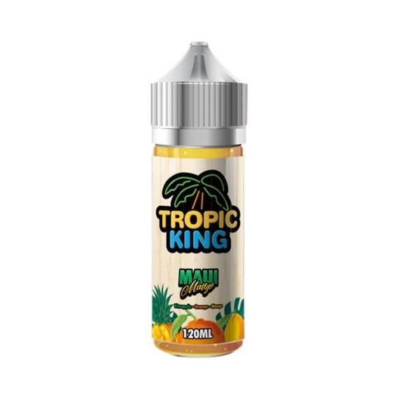 Tropic King Maui Mango 100ml Short Fill E-Liquid TKEL1DMM11000