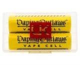 Vaping Outlaws Vape Cell 18650 25A 2500mAh Battery Twin Pack VOAB0EVC19FC0