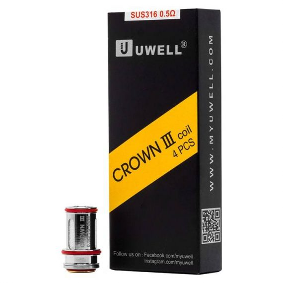 Uwell Crown 3 Replacement Coils UWAA71C3R1D8F