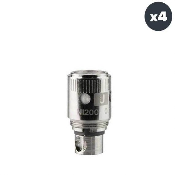 Uwell Crown Ni200 Replacement Atomizer Heads 4 Pack-0.15 ohm UWAAC4RAH36BE