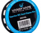 Vandy Vape - Superfine MTL Fused Clapton Wire - SS316 VVAC08SMF6E46