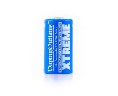 Vaping Outlaws Xtreme 18350 800mAh Battery VOAB21X183210