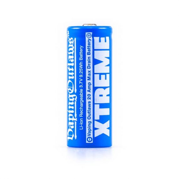 Vaping Outlaws Xtreme 18500 1100mAh Battery VOAB62X1111B9