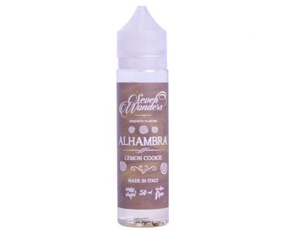 Seven Wonders Alhambra 50ml Short Fill E-Liquid VAEL48SWA5000