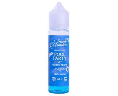Seven Wonders Pool Party 50ml Short Fill E-Liquid VAELF0SWP5000