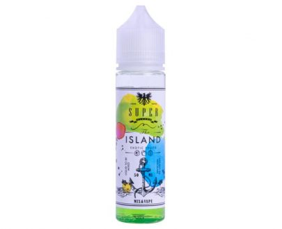 Super Flavor The Island 50ml Short Fill E-Liquid VAEL29SFI5000