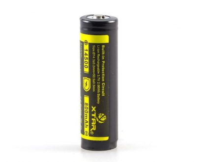 XTAR 14500 800mAh Battery XTABB518BDBE2